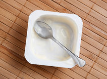 Custard remains Stock Photos
