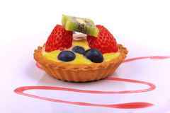 Custard tart Royalty Free Stock Photo