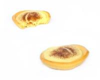 Custard tarts. 2 custard tarts Royalty Free Stock Image