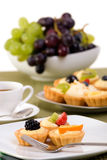 Custard Tarts Stock Photography