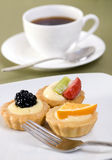 Custard Tarts Stock Photos