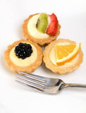 Custard Tarts Royalty Free Stock Images