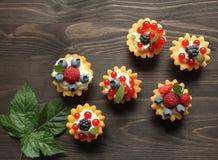 Custard tarts Royalty Free Stock Photography