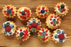 Custard tarts Stock Photography