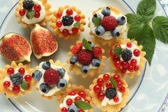Custard tarts Royalty Free Stock Photos