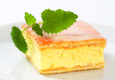Custard (Vanilla) Slice Royalty Free Stock Images