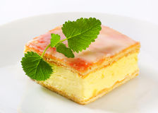 Custard (Vanilla) Slice Stock Photos