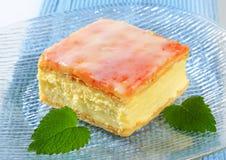 Custard (Vanilla) Slice Stock Images