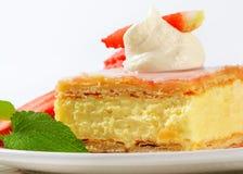 Custard (Vanilla) Slice Royalty Free Stock Image