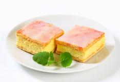 Custard (Vanilla) Slices Stock Image