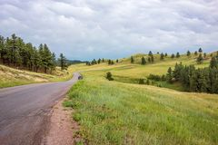 Custer State Park, Custer, deviazione standard fotografia stock