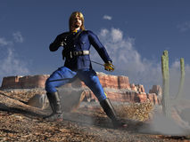 Custer's last stand Stock Photos