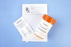 Custo da prescrição Imagens de Stock