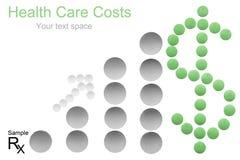 Custo da saúde fotos de stock