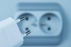 Custo de eletricidade Foto de Stock Royalty Free