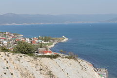 Custo de Novorossiysk Foto de Stock
