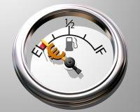 Custo do combustível Foto de Stock