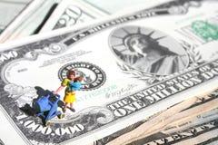 Custo elevado de levantar as crianças #2 Imagem de Stock Royalty Free