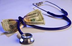 Custo médico elevado fotografia de stock royalty free