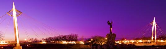 Custode delle pianure a Wichita, Kansas Fotografia Stock Libera da Diritti