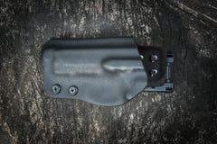 Custodia per armi di Kydex per la pistola Fotografia Stock Libera da Diritti