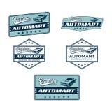 Custom automart logo vector. LogoCar Custom automart logo vector Stock Photography