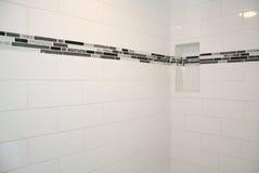 Custom Bathroom Shower Tile Stock Images