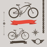 Custom bicycle Stock Photography