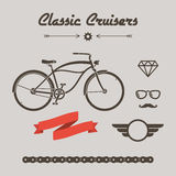 Custom bicycle Royalty Free Stock Image