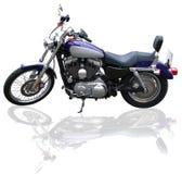Custom bike. Custom motorcycle on a white background stock photos