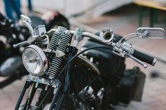 Custom bike Royalty Free Stock Images