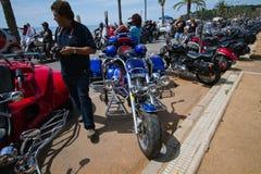 Custom bikes Stock Photo