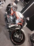 Custom Bikes show  at the 2015 VERONA MOTOR BIKE EXPO Italy Royalty Free Stock Images