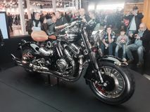 Custom Bikes show  at the 2015 VERONA MOTOR BIKE EXPO Italy Stock Photography