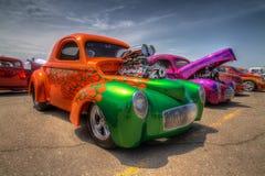 Custom blown Hotrod Stock Photography