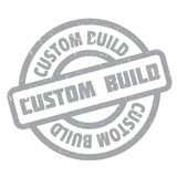 Custom Build rubber stamp Stock Photography