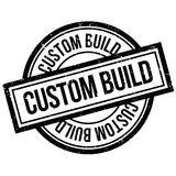 Custom Build rubber stamp Stock Photo