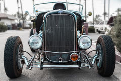 Custom Built Hot Rod at Show Royalty Free Stock Photo