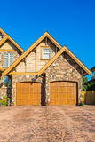 Custom built house. Royalty Free Stock Image