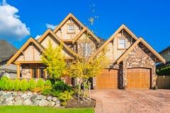 Custom built house. Royalty Free Stock Photos
