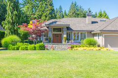 Custom built house. Royalty Free Stock Photography