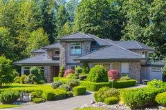 Custom built house. Stock Images