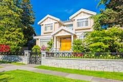 Custom built house. Stock Image