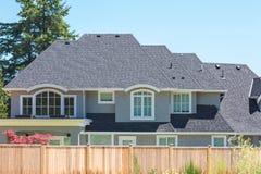 Custom built house. Stock Photography