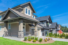 Custom built house. Stock Photography