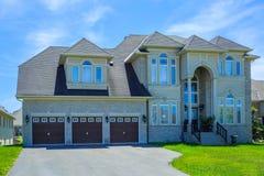 Custom built luxury house in the suburbs of Toronto, Canada. Stock Photo