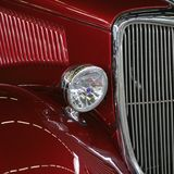 Custom car. Front end of a custom american car Royalty Free Stock Photography