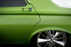Custom car detail Stock Images