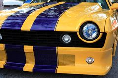Custom Car Headlight Royalty Free Stock Images