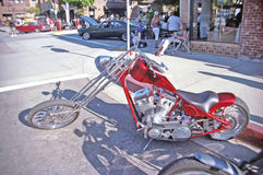 Custom Chopper Royalty Free Stock Photos